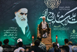 مراسم گرامیداشت سالروز ارتحال امام(ره) در شیراز