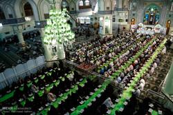 شاہ عبدالعظیم کے حرم مبارک میں قرآن کریم کی تلاوت کے روح پرور مناظر