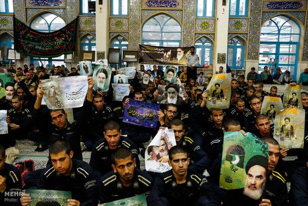 Iran mourns anniv. of Imam Khomeini's passing