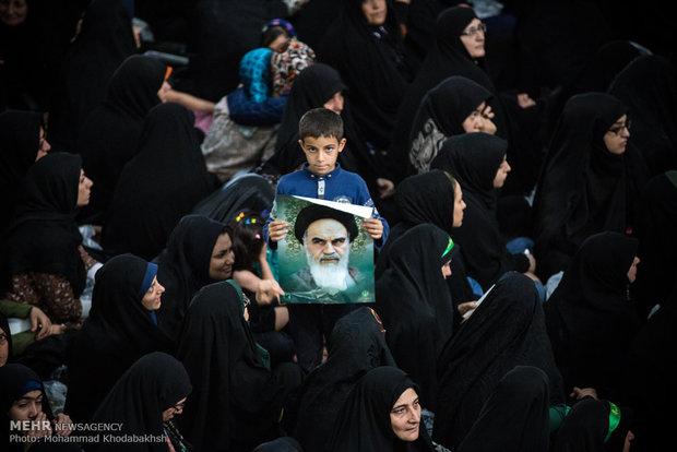 مراسم احياء ذكرى رحيل الامام الخميني في ايران