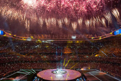 گزارش تصویری جشن قهرمانی رئال در شهر مادرید