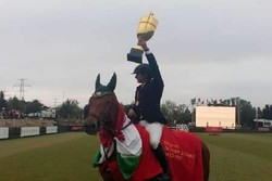 Iran ranks 1st in Baku CSI 2 horse race