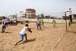 ملی پوشان والیبال امید ساحلی در عباس آباد اردو زدند