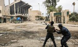 القوات العراقية تندفع باتجاه الموصل القديمة لطرد الجماعات الارهابية