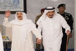 امیر کویت و ملک سلمان