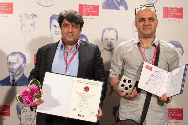«روتوش» بهترین فیلم کوتاه جشنواره کراکوف شد