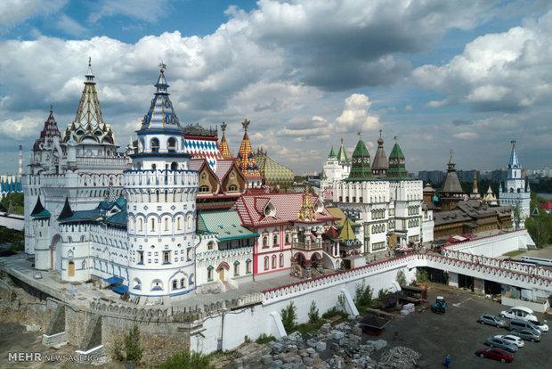 تصاویر هوایی از مسکو