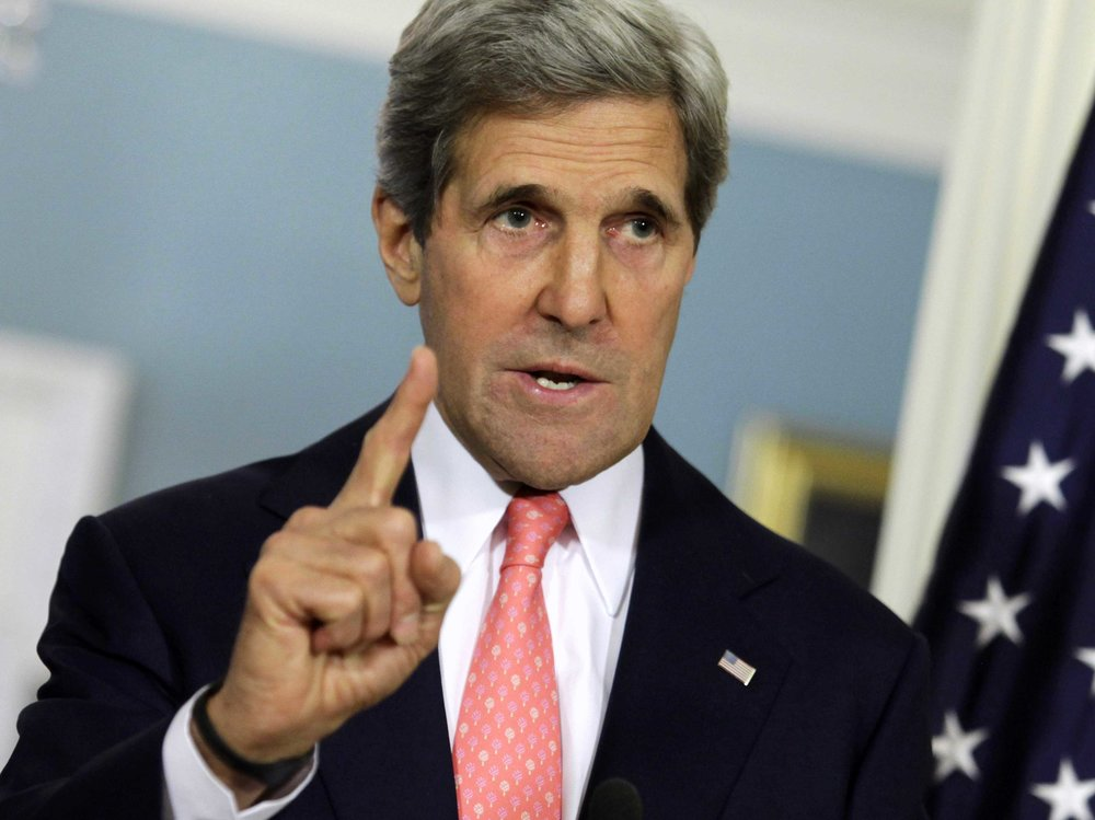 Israel, Egypt pushed USA to bomb Iran before nuclear deal, Kerry says