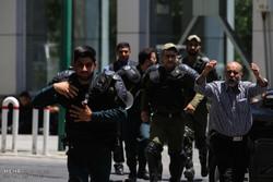 مشاهد من الاعتداء المسلح على مجلس الشورى الاسلامي (1)/صور