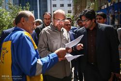 افتتاح پروژه های شهری منطقه شش تهران