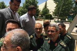 قادة الحرس الثوري يتوجهون الى مجلس الشورى لبحث الهجوم الارهابي