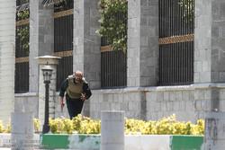 مشاهد من الهجوم الإرهابي على مجلس الشورى الاسلامي  /فيديو