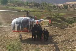 نجات جان جوان مارگزیده توسط اورژانس هوایی الیگودرز