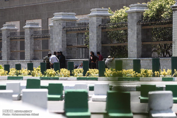 Armed attack on Iran's Parliament