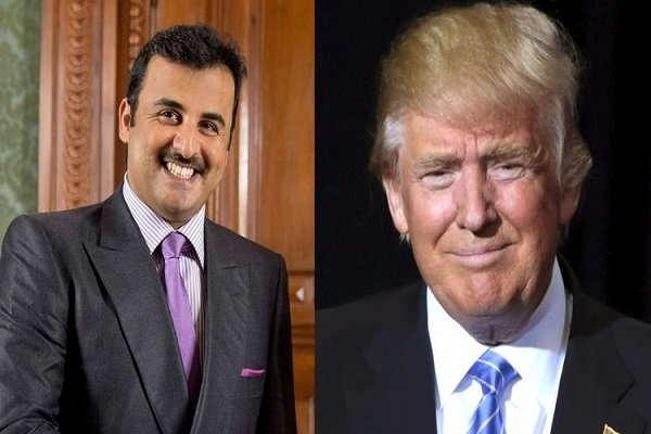 Qatari Amir, Trump discussed PG diplomatic crisis