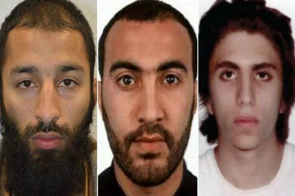 مظنونان اقدامات تروریستی در نگلیس