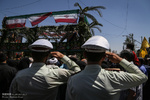 پیکر «محمد قاسمزاده» شهید مدافع حرم در نجفآباد تشییع میشود