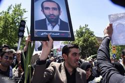 جلال طالباني يعزي قائد الثورة على شهداء الأعمال الإرهابية في طهران