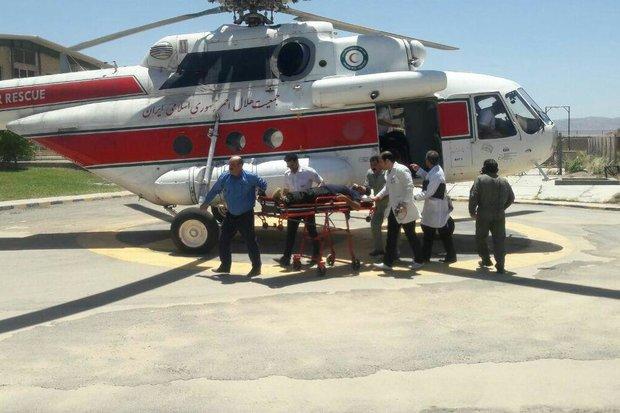 اورژانس هوایی همدان ۲۰۰ ماموریت امدادی انجام داده است