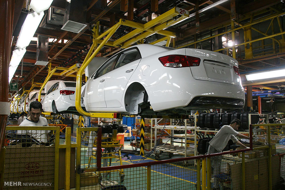Iran\'s car production up 9.8% in 2.5 months - Tehran Times