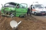 هشت مصدوم و یک فوتی نتیجه واژگونی ون زائران در میسان