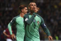 پرتغال همچنان در تعقیب سوئیس/ درخشش رونالدو ادامه دارد