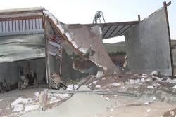 ۵۰  دهنه مغازه غیر مجاز در ناحیه منفصل شهری ننله سنندج تخریب شد