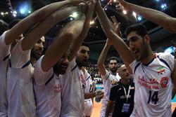 National volleyballers subdue Belgium in Tehran