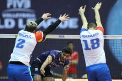 ايران تخسر أمام صربيا في الدوري العالمي للكرة الطائرة