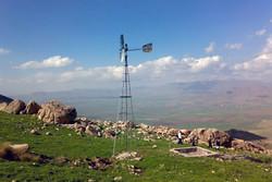 حفرچاه و نصب تلمبه بادی در منطقه شکار ممنوع آرسک دامغان انجام شد