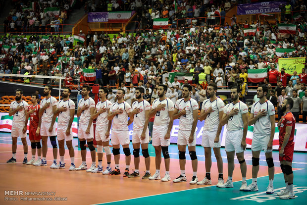 Iran vs Belgium Volleyball World League 2017