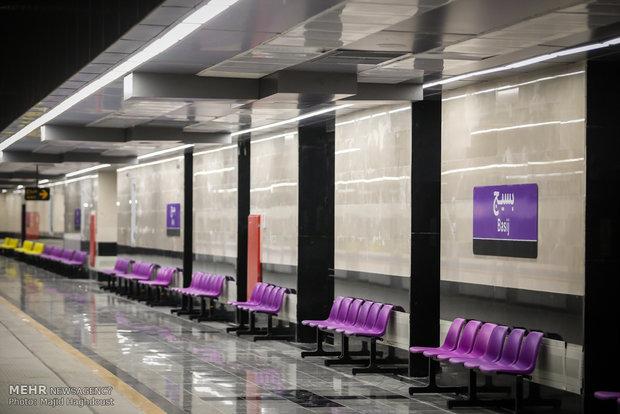 آیین افتتاح خط 7 مترو حد فاصل ايستگاه بسيج تا ايستگاه ميدان صنعت