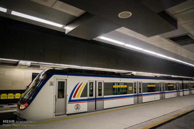 صدو پانزدهمین ایستگاه مترو پایتخت به بهرهبرداری رسید