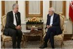 وزير الخارجية الايراني يستقبل وزير مالية النمسا