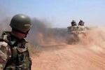 Suriye ordusu Irak sınırında
