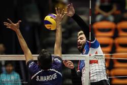 دیدار تیم های ملی والیبال ایران و صربستان