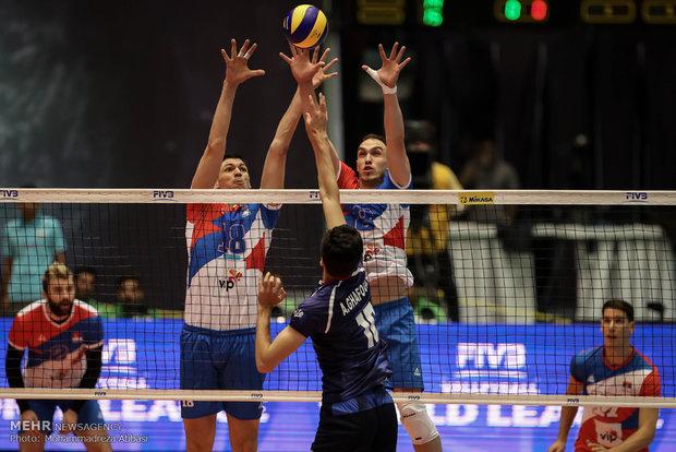 İran Voleybol Dünya Ligi'nde Sırbistan'a yenildi