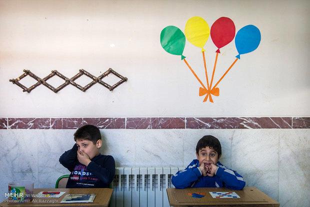 دو عضو شورای شهر تهران از مرکز آموزش کودکان اوتیسمی دیدار کردند