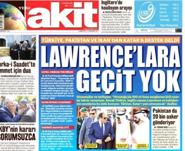 صحيفة تركية: إسرائيل هي التي أعدت قائمة الإرهاب الخاصة بقطر