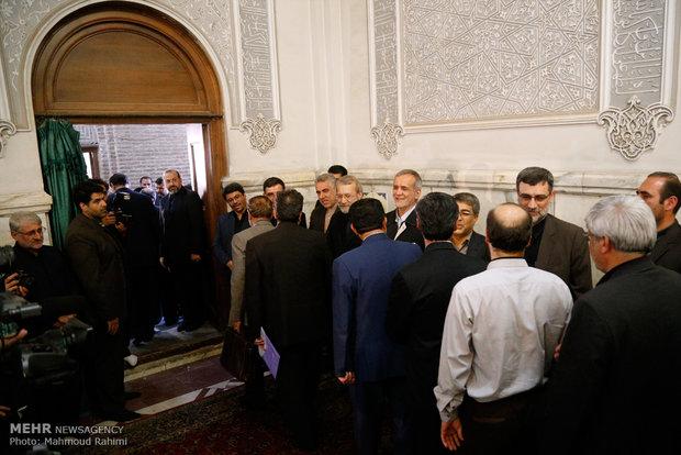 Ceremony honors martyrs of Tehran terror attacks