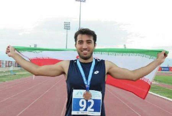 İranlı milli atletten Türkiye'de önemli başarı