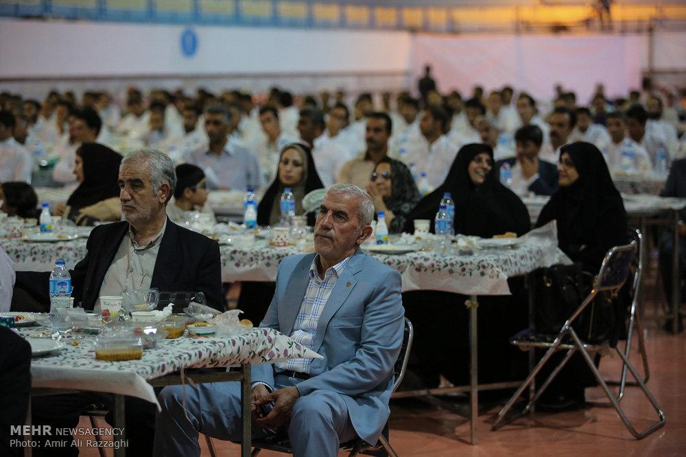مراسم گلریزان برای آزادی زندانیان ساری