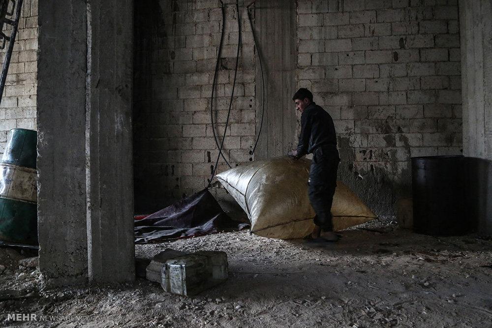 کمبود سوخت در سوریه