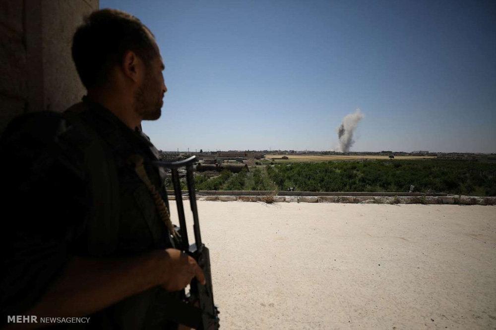 نبرد برای گرفتن رقه از داعش