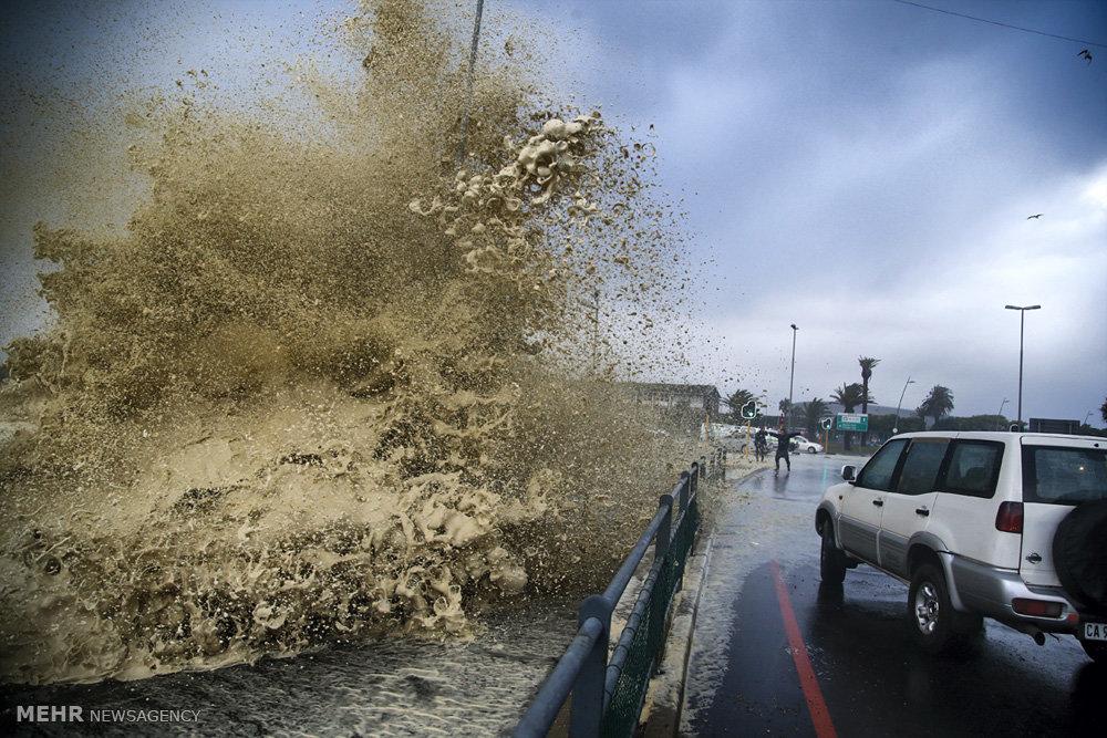 طوفان بی سابقه در آفریقای جنوبی