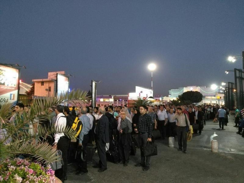تدابیرامنیتی فرودگاه مهرآباد تشدیدشد/استقبال مردم ازافزایش بازرسی