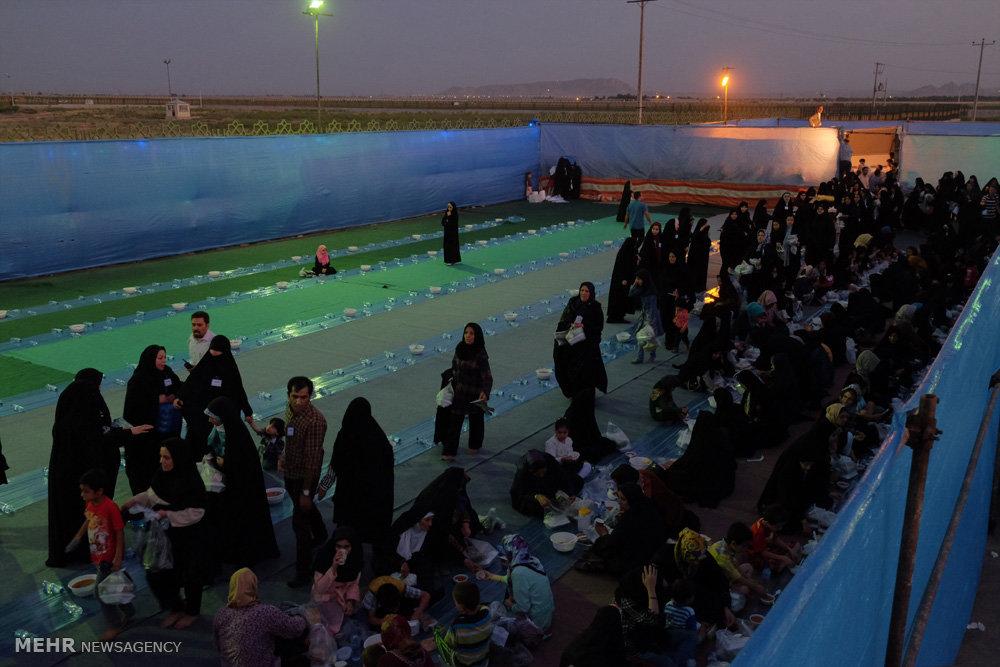 افطاری خیابانی شش هزار نفری در مشهد