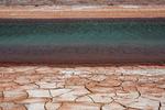 اعجاز طبیعت در کویر اشتهارد / تپه های رنگین کمانی