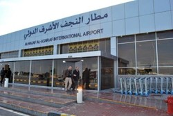 تعليق رحلات الزوار الايرانيين الى مطار النجف