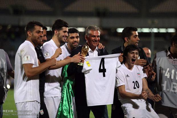 صعود ایران به جام جهانی 2018